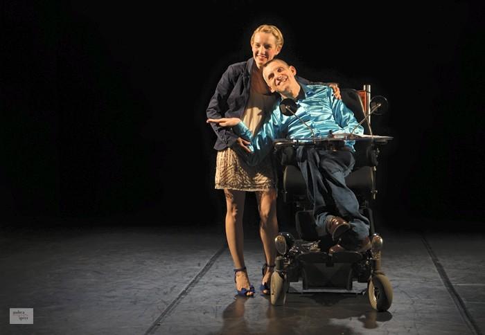 Das Moderatoren-Team Roland Walter und Cynthia Buchheim Foto: © Andrea Speer