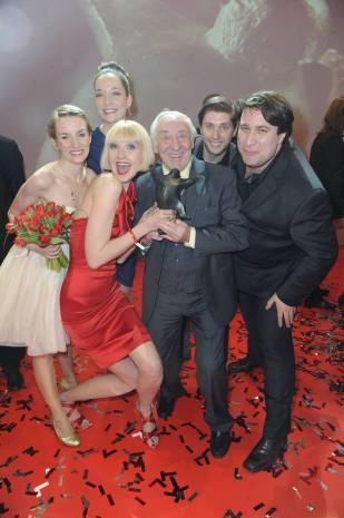 Prime Time Theater gewinnt den BZ-Kulturpreis (Publikumspreis) BZ Kulturgala2012mit Didi1