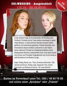 drehs und neue rollen Rückblick mit Vorraussicht: Zwei Drehs und neue Rollen am Prime Time Theater poster next folge
