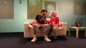"""Esra (Noemi Dabrowski) und Taifun (Marlon Putzke)  GWSW Folge 111 """"Das Große Schwitzen"""" - die 3. Folge von mir IMG 20170628 WA0006"""