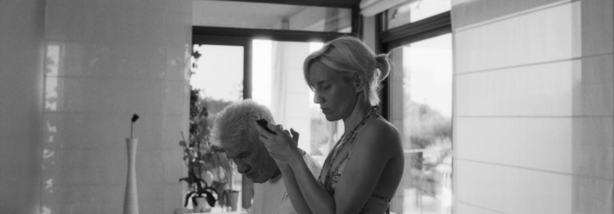 Burkhard Driest und Cynthia Buchheim auf Ibiza ©Daniel Zimmermann 2018
